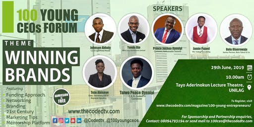 100 YOUNG CEO FORUM - JUNE 2019 EDITION