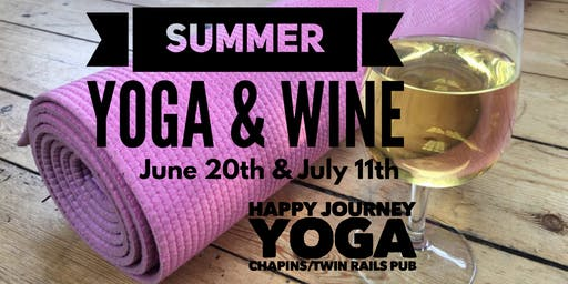 Summer Yoga and Wine 2 Date Event
