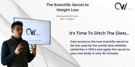 The Scientific Secret to Weight Loss - Seminar tickets