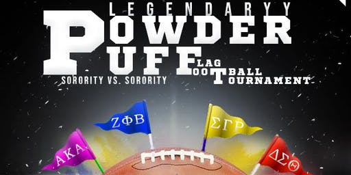 Legendaryy Powderpuff Flag Football Tournament