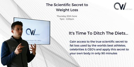 The Scientific Secret to Weight Loss - Seminar