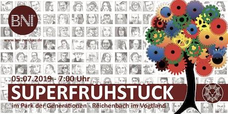Superfrühstück 2019 der BNI Region Zwickau & Hochfranken Tickets