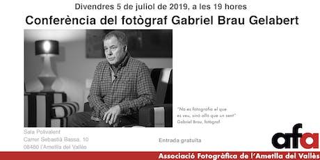 Conferència Gabriel Brau entradas