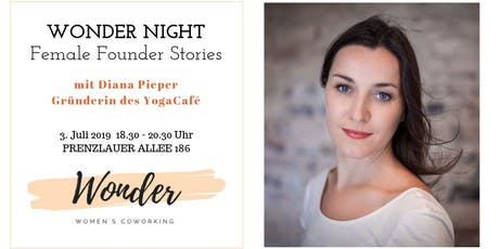 WONDER NIGHT: Female Founder Stories Tickets