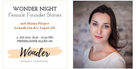 WONDER NIGHT: Female Founder Stories Tickets