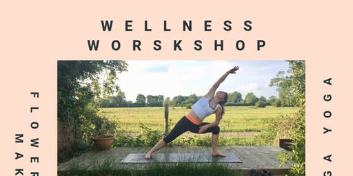 Wellness Workshop - Flower Crown Making, Yoga class and Bathing session