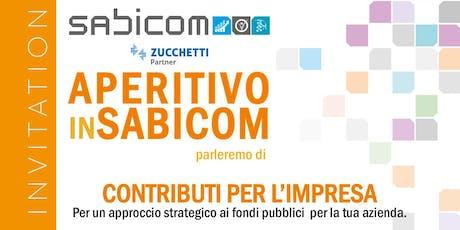 Incontro sui Contribuiti per l'Impresa - Un approccio strategico ai fondi pubblici per la tua azienda. biglietti