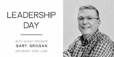 Leadership Day with Gary Grogan tickets