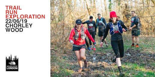 #neverstoplondon Trail Run Exploration