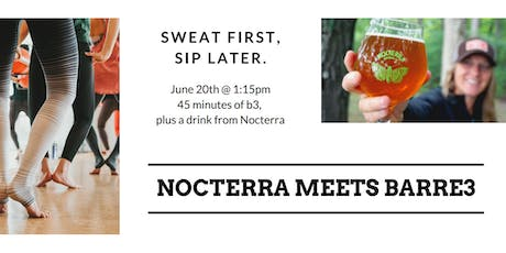 Sweat First, Sip Later. Barre3 & Beer tickets