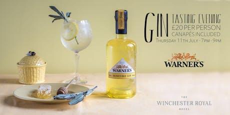 Gin Tasting with Warner's Distillery tickets