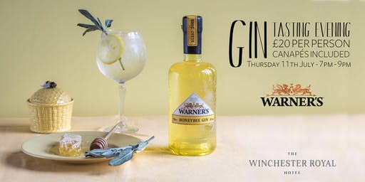 Gin Tasting with Warner's Distillery