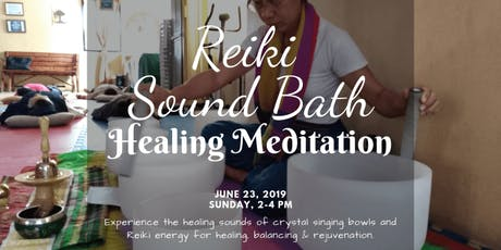 Reiki Sound Bath for Healing and Rejuvenation tickets