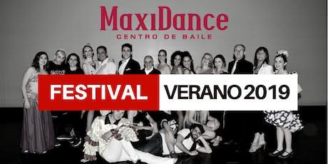 Festival de Verano Maxidance 2019 entradas
