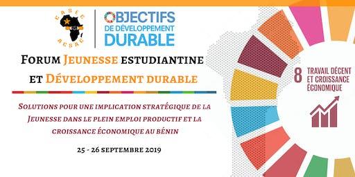 Forum Jeunesse Estudiantine et Développement durable