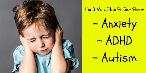 The Perfect Storm: Anxiety, ADHD, and Autism.