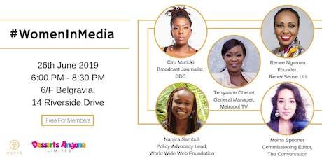 Women in Media tickets