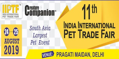INDIAN INTERNATIONAL PET TRADE FAIR tickets