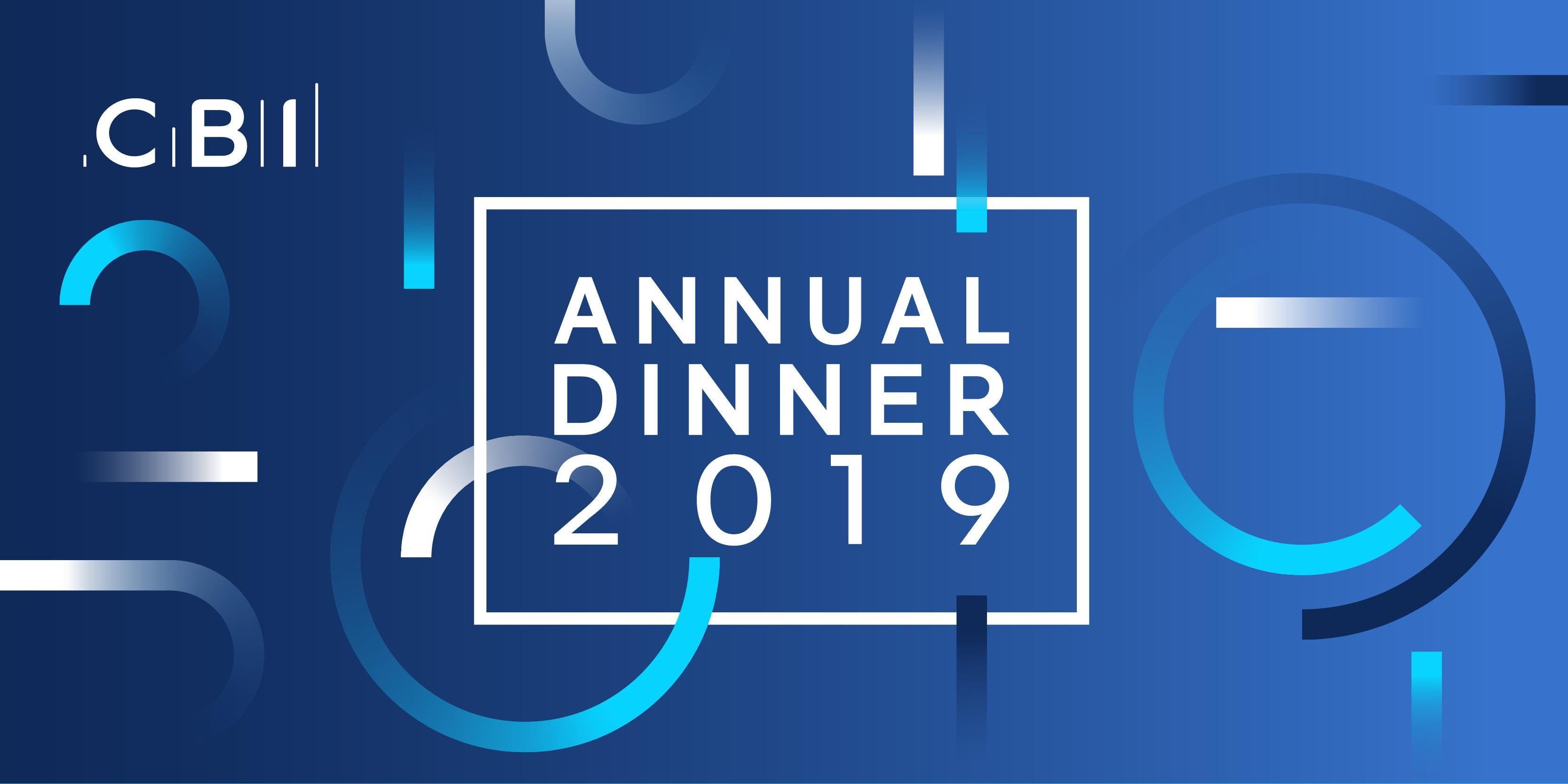 CBI Yorkshire and the Humber Annual Dinner 2019