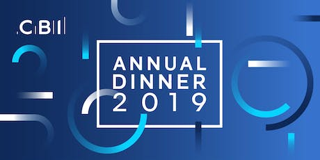 CBI Yorkshire and the Humber Annual Dinner 2019 tickets