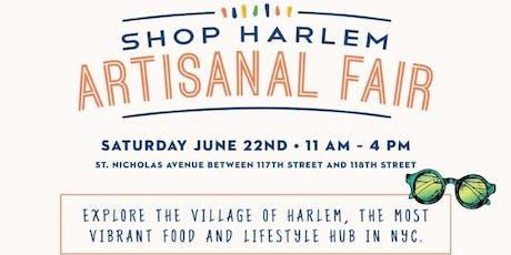 Shop Harlem Artisanal Fair tickets