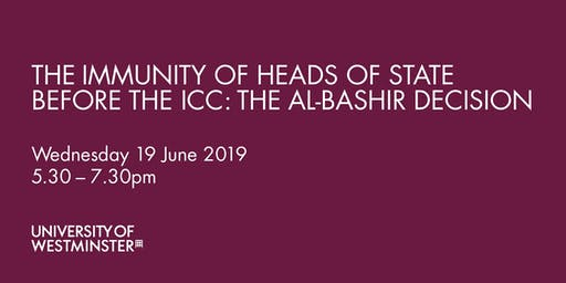 The Immunity of Heads of State Before the ICC: The Al-Bashir Decision