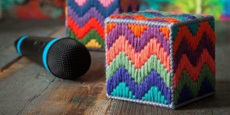 Bargello Box - learn bargello stitching tickets