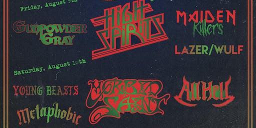 A Rippin 5th Anniversary Weekend w/ High Spirits, Morbid Saint & many more!