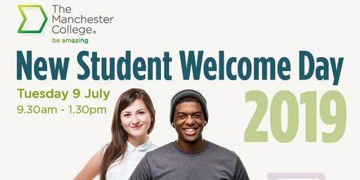New Student Welcome Day (16-18 year old applicants only)