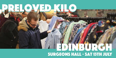 Edinburgh  Preloved Vintage Kilo tickets