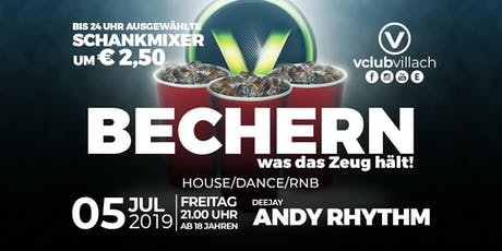 Fridays Red-Cup-Party: So bechert man @ V Tickets