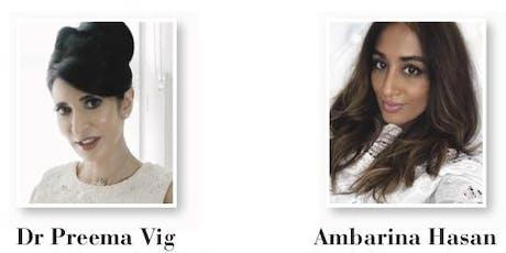 Dr Preema & Ambarina demystify Profhilo® tickets