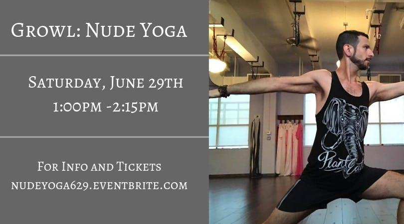 Pride Nude Yoga (For Men)