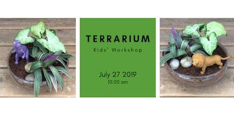 Kids Workshop: DIY Terrarium @10am tickets