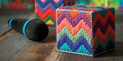 Bargello Box - learn bargello stitching