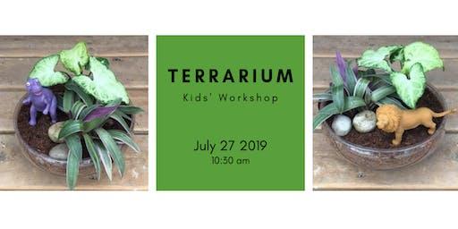 Kids Workshop: DIY Terrarium @10:30am