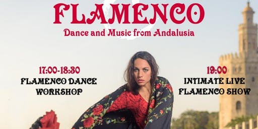 CalleJondo Flamenco Dance and Music Workshop and Intimate Show from Andalusia, at Redwing Art Gallery