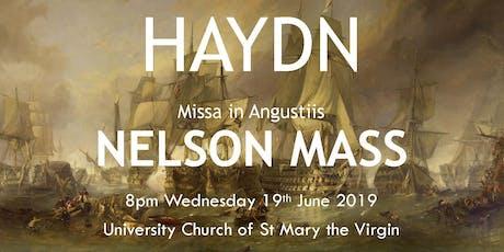 Haydn Nelson Mass tickets