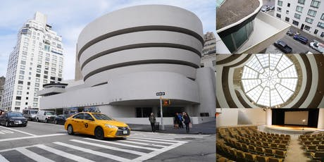 "Behind-the-Scenes @ The Guggenheim, Frank Lloyd Wright's ""Temple of Spirit"" tickets"