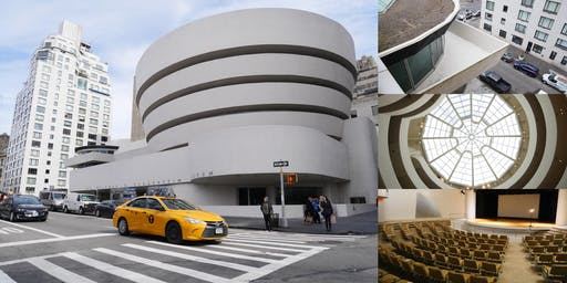 "Behind-the-Scenes @ The Guggenheim, Frank Lloyd Wright's ""Temple of Spirit"""
