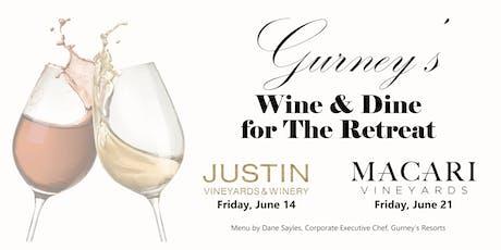 Gurney's Star Island Wine & Dine for The Retreat tickets