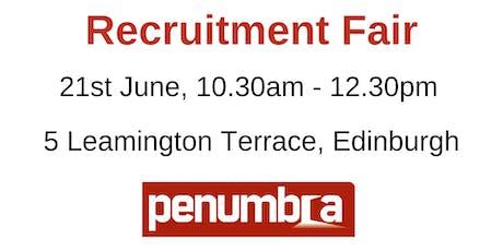 Penumbra Recruitment Fair tickets