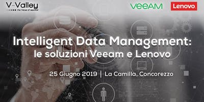 Veeam e Lenovo insieme: l'Intelligent Data Management integrato