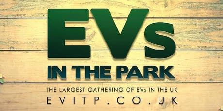 EVs In The Park 2019 tickets