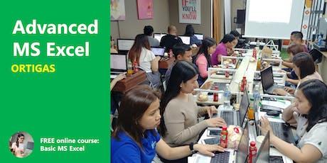 Advanced Excel Training - Ortigas tickets