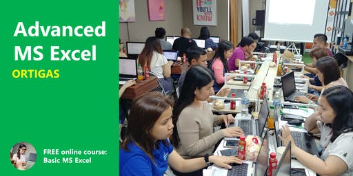 Advanced Excel Training - Ortigas