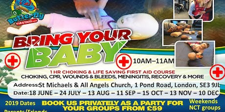Bring your baby - First Aid Course - Blackheath tickets