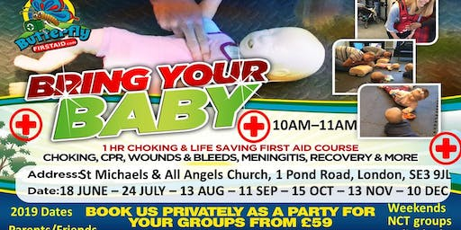 Bring your baby - First Aid Course - Blackheath