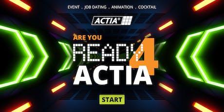Ready 4 Actia - Afterwork Recrutement -  Techniciens et Opérateurs billets
