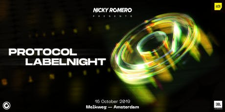 Nicky Romero presents: Protocol Labelnight ADE '19 tickets